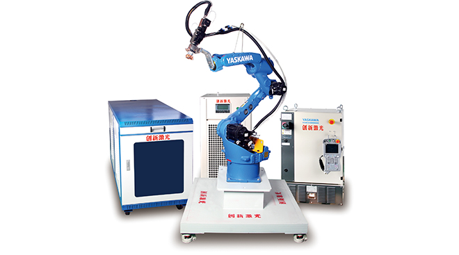 Continuous fiber laser welding machine