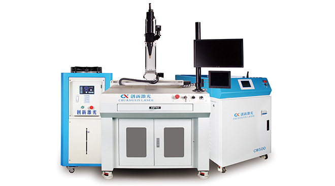 Three-axis/four-axis linkage fiber laser welding machine