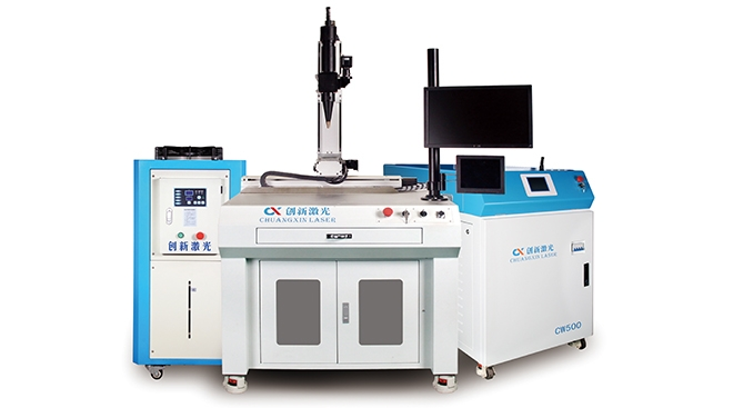 Three-axis/four-axis linkage fiber laser welding machine